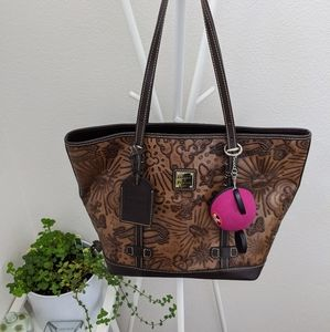 Dooney and Bourke Disney Leather Tote brown